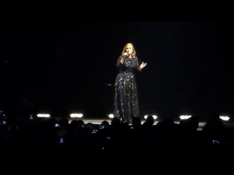 Adele - Hello - Tele 2 Arena, Stockholm 2016