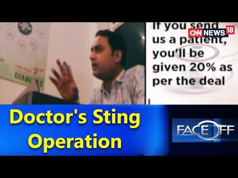 Doctor's Sting Operation | Face Off@9 With Zakka Jacob | CNN-News18