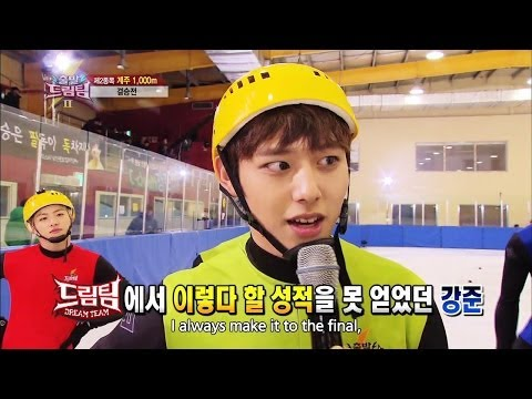 Let's Go! Dream Team II | 출발드림팀 II : Short Track Skating - Part 2 (2014.01.19)