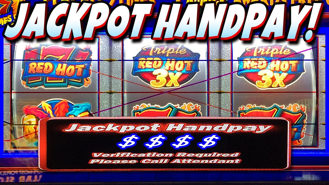 Hand pay slots videos