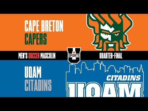 RECAP: 2018 U SPORTS Men's Soccer Championship - QF #3 Cape Breton vs UQAM