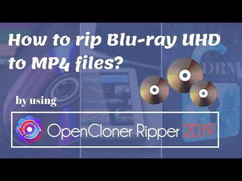 How to rip Blu-ray UHD to MP4 files?