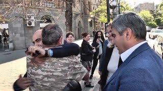 Մարուքյանն ու Սարգսյանը չեն միանում Փաշինյանին. «Մենք այստեղ ենք, քանի որ բռնություն է եղել»