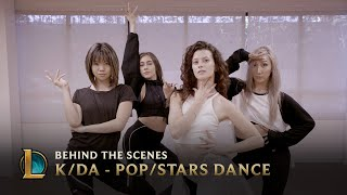 kda popstars dance behind the scenes league of legends