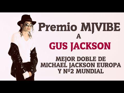 GUS JACKSON agradece apoyo a fans PREMIO MJVIBE Mejor doble de Europa y Nº2 Mundial