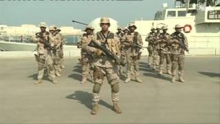 مناورات جسر 17 السعودية البحرينة تنطلق بميناء الشيخ سلمان