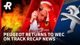 Peugeot will return to Le Mans and Rally Australia is cancelled | On Track Recap News🔁 | 13th Nov