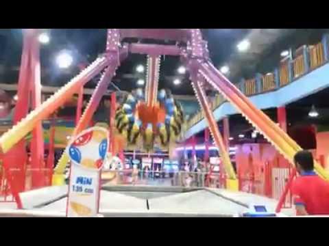 eb0d0315c Bawadi Mall ride in Al Ain, Abu Dhabi, UAE - YouTube