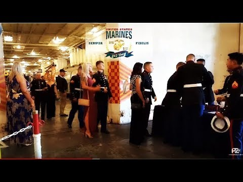 Uss HORNET EVENT TONIGHT - Marines Celebrating 242 Years!