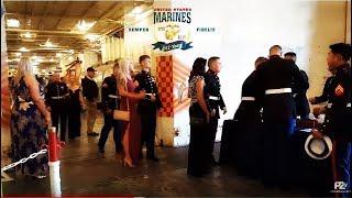 Uss HORNET EVENT TONIGHT - Marines Celebrating 242 Years!