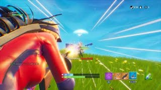 Fortnite Battle Royale: Face aux guerriers au sol bas-Comment obtenir plus haut avec des rampes de lancement (FULL BR Match)