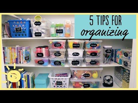 Tips  Closet Overhaul!