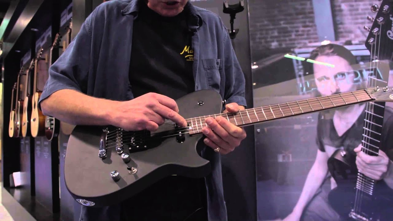 namm 2015 cort matt bellamy muse guitar youtube