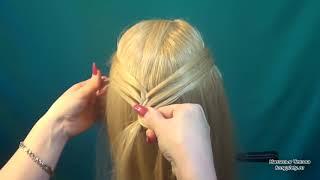 Красивая коса как заплести видео урок