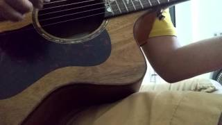 [Guitar cover demo] Cảm ơn người vì đã rời xa tôi - Phạm Hồng Phước