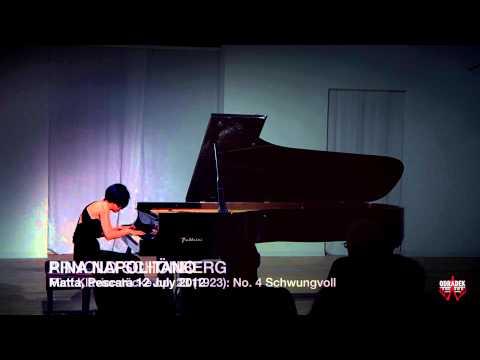 Pina Napolitano - Schönberg, Fünf Klavierstücke op. 23 - Project Odradek Festival, Matta, Pescara