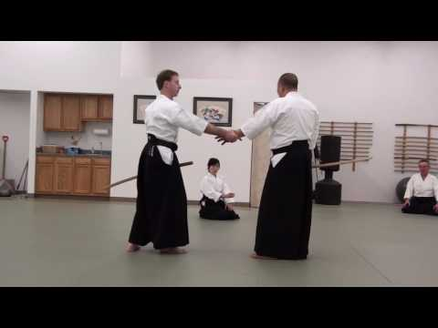 Kinoshita Sensei  Teaching Katatedori at Capital Aikikai of Syracuse