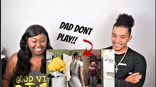 I GOT BEAT UP PRANK (DAD PULLS OUT GUN) | REACTION!! | *EXTREMELY  FUNNY*