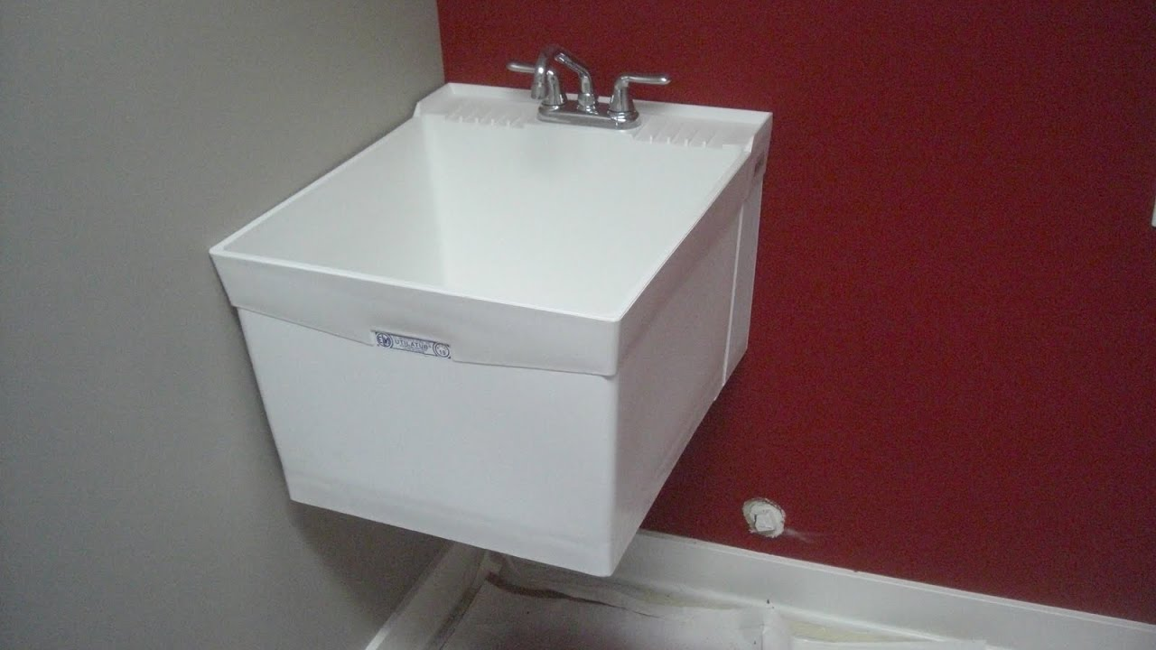 Mustee Wall Mount Utility Sink Droughtrelief Org