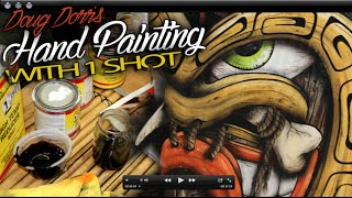Hand Painting Techniques Using One Shot By Doug Dorr