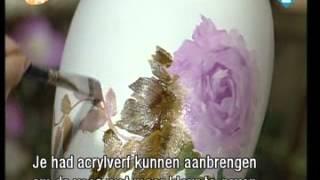 Урок Гарри Дженкинса. Роспись вазы.