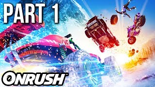 ONRUSH Gameplay Walkthrough Part 1 (no commentary)