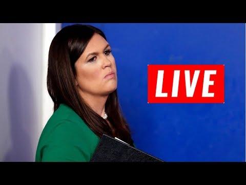 WATCH: Press Secretary Sarah Huckabee Sanders White House Press Briefing LIVE 10/6/17