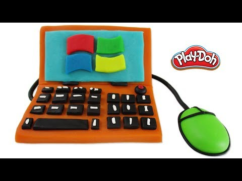 How To Make Play Doh Laptop Computer