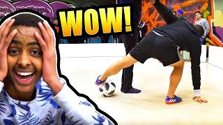 VIRAL FOOTBALL TWINS TRICKS EVERYONE!!! 😱😨😳