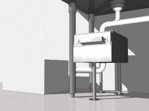 The Drain Strainer How It Works Food Solids Separator