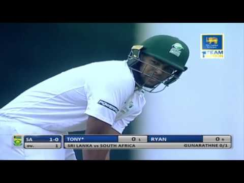 South Africa Emerging Team Tour of Sri Lanka 2018, 01st  Four Day Game , Day -1
