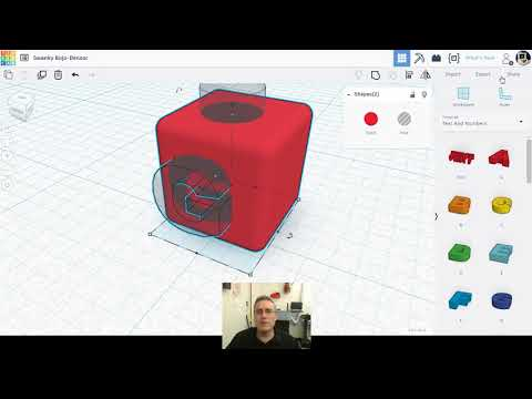 Makerspace Tutorials – Tinkercad Advanced Tricks 1