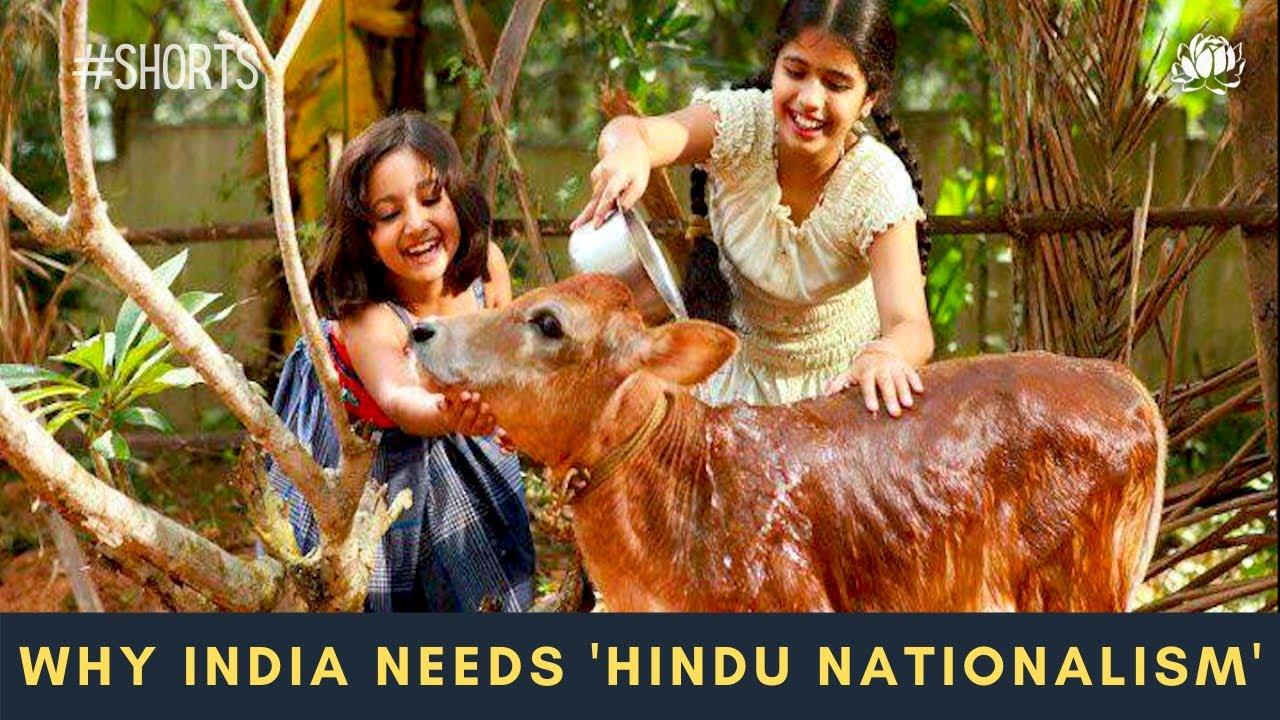 """India is still a democracy today because of Hindus."" Muslim-born Indian yogi Dr. Sofiya Rangwala ji"