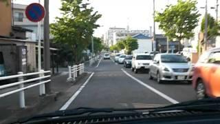 愛知県平針運転免許試験場普通二種路上試験Aコース