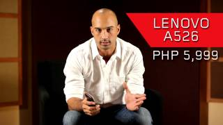 Lenovo A526 Unboxing by KC Montero