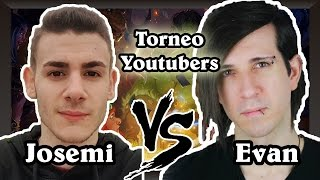 JOSEMI vs EVANGELION | Torneo YouTubers FINAL