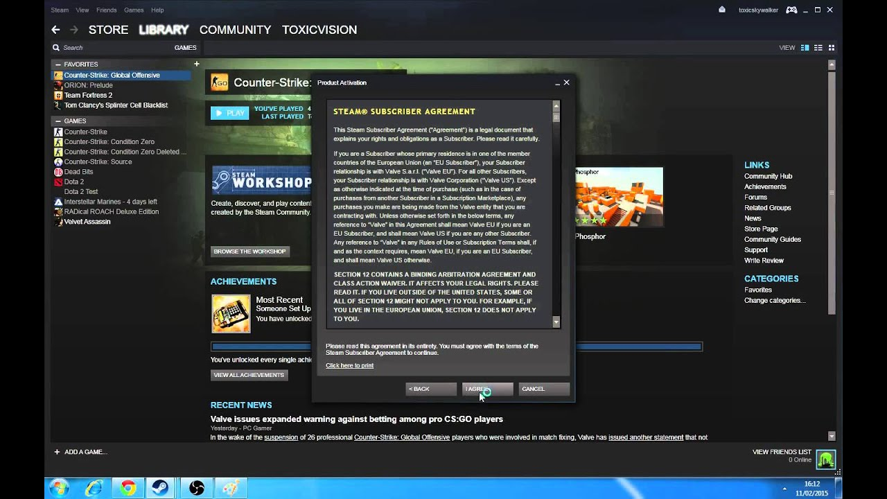 How to redeem your steam product code - YouTube