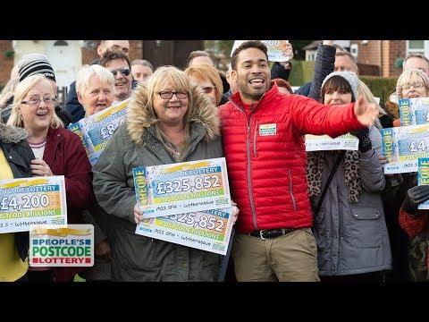 #PostcodeMillions Winners - M22 5FH in Wythenshawe on 24/11/2018 - People's Postcode Lottery
