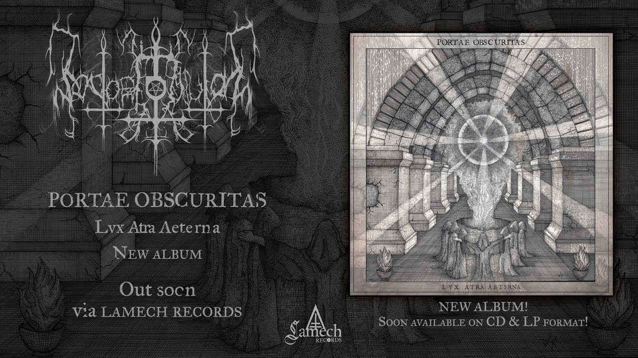 PORTAE OBSCURITAS SONG PREMIERE + FREE DOWNLOAD | LAMECH RECORDS