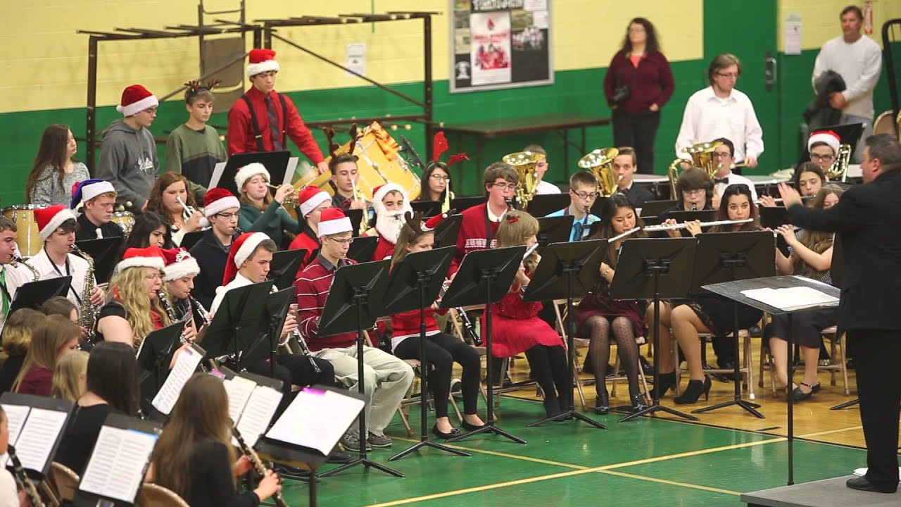 Yorktown High School Band Plays A Mad Russian's Christmas ...