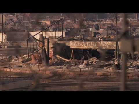 Fire Destroys Oakridge Mobile Home Park In Sylmar