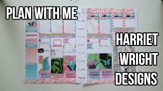 plan with me   harriet wright designs   the happy planner