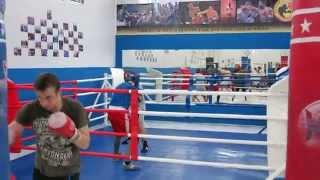Тренировка по боксу в Бутово январь 2014