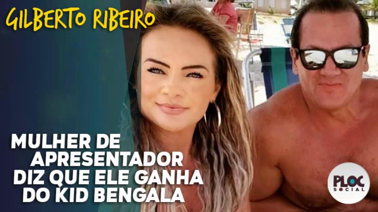 EX APRESENTADOR DA RECORD SUPERA KID BENGALA DIZ ESPOSA