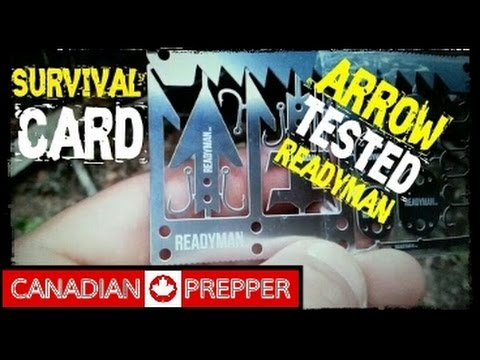Wilderness Survival Card: Arrow Test | Canadian Prepper