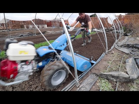 Tilling in Tight Spaces