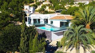 Альтеа, продажа большой виллы в районе Sierra De Altea, современная недвижимость в Испании у моря