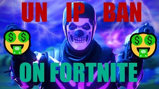 How To Get Unbanned From An IP Ban In Fortnite 😝 l EASY TUTORIAL!😝 l