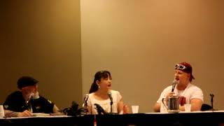 One of the three interviews I documented on Day 2 of G-Fest XXV and by far the most exciting alongside Ken Satsuma's panel the hour before. Megumi really ...