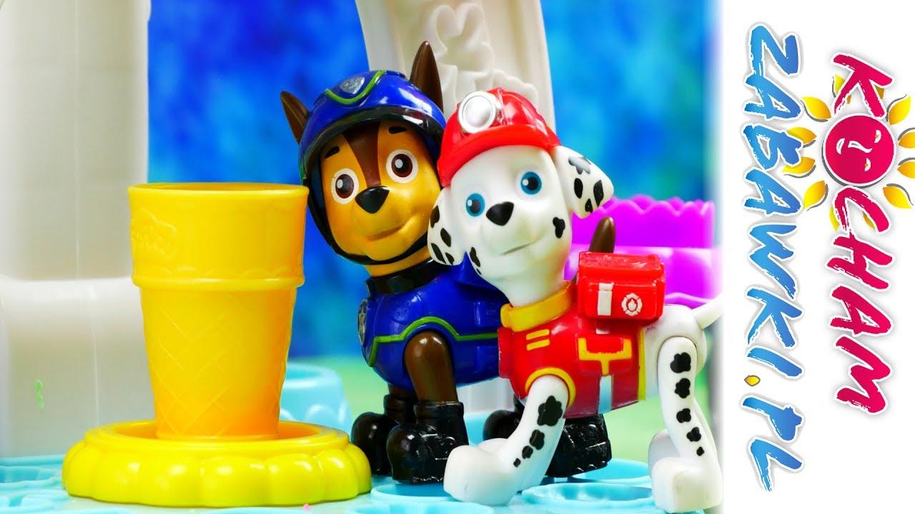 Psi patrol & Play Doh – Naprawa lodziarni – Bajki dla dzieci i kreatywne zabawy